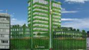 Bivša zgrada Beobanke prvi neboder sa zelenom fasadom